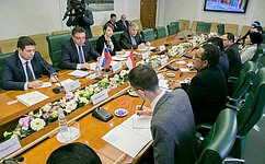 В.Тимченко: ВСовете Федерации приветствуют намерение индонезийских парламентариев расширять связи сроссийскими коллегами