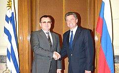 Н. Федоров: Россия придает принципиальное значение развитию конструктивного сотрудничества сУругваем