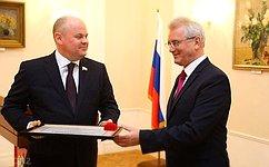 А.Дмитриенко награжден Почетной грамотой губернатора Пензенской области