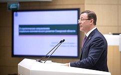 Входе «Часа субъекта» вСовете Федерации была представлена Самарская область