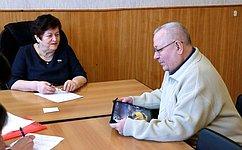 Л. Козлова провела прием граждан вДорогобужском иКардымовском районах Смоленской области