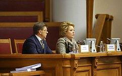 В.Матвиенко провела пленарное заседание Межпарламентской Ассамблеи СНГ