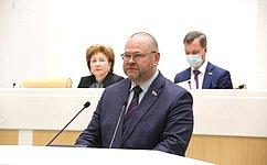 О. Мельниченко: Заотчетный период Комитет рассмотрел иподдержал 115 федеральных законов всфере своей ответственности