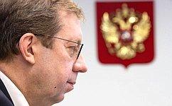 Мы ведем мониторинг реализации решений, принятых врамках Дней Сахалинской области вСовете Федерации— А.Майоров