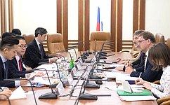 К.Косачев: Каждая новая встреча сяпонскими парламентариями дает импульс дальнейшей совместной работе