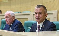 На«парламентской разминке» сенаторы обсудили соблюдение требований водного законодательства исубсидирование регионального авиасообщения