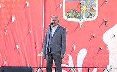 Н.Тихомиров поздравил земляков сДнем России иДнем города
