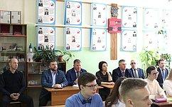 А.Кондратьев посетил образовательные организации города Рассказово