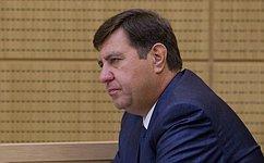 А. Голушко отчитался перед Законодательным Собранием Омской области освоей работе вСовете Федерации