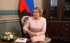 Председатель СФ В.Матвиенко встретилась сПредседателем Совета Республики Национального Собрания Беларуси Н.Кочановой