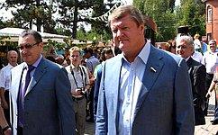 В.Харламов принял участие впраздновании Дня урожая вКраснодаре