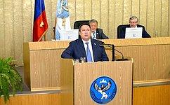 В. Полетаев принял участие всессии Государственного Собрания– Эл Курултай Республики Алтай
