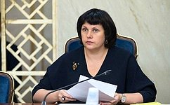Е.Афанасьева: Спасибо, дорогие женщины, забольшой вклад вкультуру, засохранение ивозрождение российских брендов