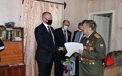 С. Горняков: Наши ветераны заслуживают всестороннего внимания изаботы