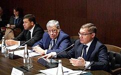 А.Чернецкий провел выездное заседание, посвященное комплексному развитию территорий городов