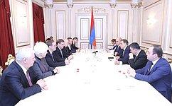 Российские иармянские парламентарии обсудили состояние иперспективы двустороннего межпарламентского диалога