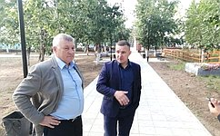С. Михайлов высоко оценил реализацию федеральных программ вдвух районах Забайкалья