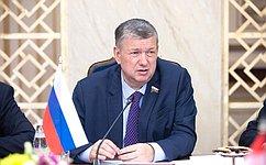 Е. Бушмин: Совет Федерации уделяет особое внимание вопросам развития интеграционных процессов наевразийском пространстве
