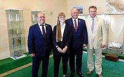 А. Кондратенко принял участие вцеремонии открытия музея геологии инедропользования Кубани