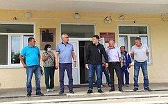 Б. Жамсуев: ВАгинском округе сохраняется положительная динамика построительным иремонтным работам социальных объектов