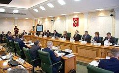 Председатель СФ провела ежегодное совещание состатс-секретарями
