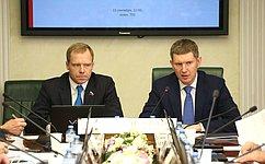 Комитет СФ поэкономической политике заслушал доклад Министра экономического развития РФ опрогнозе социально-экономического развития