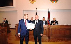 С.Белоусов: Законодатели края насвоей сессия рассмотрела ряд важнейших законопроектов