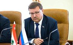 ВРоссии внимательно следят заразвитием ситуации вЛиване— К.Косачев
