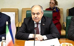 И. Умаханов: Парламенты России иИрана играют позитивную роль врасширении сотрудничества двух стран