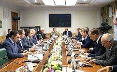 С. Лисовский провел встречу сделегацией Немецкого сельскохозяйственного общества