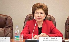 Ответственность чиновников, работающих сНКО, станет выше— Г.Карелова