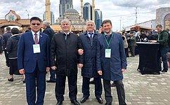 В.Харлов принял участие впразднования 200-летия города Грозного