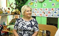 Повышение зарплаты воспитателям детсадов— необходимое условие для развития системы дошкольного образования— Л.Антонова