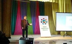 В.Тимченко оситуации всубъекте врамках рабочего визита врайоны Кировской области