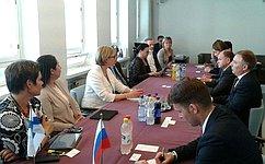 Делегация Комитета Совета Федерации посоциальной политике посещает Финляндскую Республику