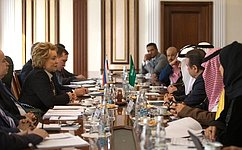 Российские исаудовские парламентарии договорились активизировать взаимодействие