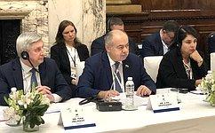Роль парламентов изначение их взаимодействия возрастают всвете новых вызовов иугроз— И.Умаханов
