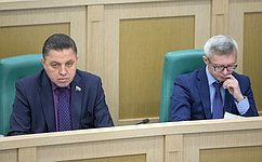 На«парламентской разминке» сенаторы подняли тему регулирования оборота спиртосодержащей продукции