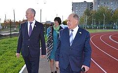 Н.Петрушкин посетил Мордовский государственный педагогический институт имени М.Е.Евсевьева