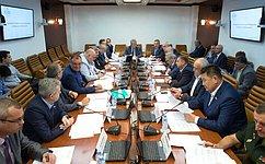 Сенаторы обсудили нормативно-правовое регулирование модернизации парка пожарных автомобилей врегионах России