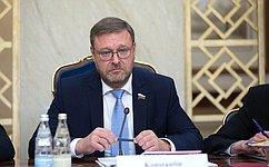 К. Косачев: ВСовете Федерации готовы квосстановлению отношений спарламентом Великобритании
