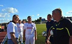 А. Волков: Развитие массового спорта– залог здоровья нации