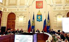 А.Клишас: Межнациональные имежконфессиональные отношения традиционно находятся всфере внимания Совета Федерации
