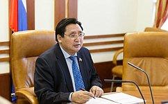 А. Акимов: Рабочей группой СФ подготовлены поправки взаконодательство, устанавливающие особый статус коренных малочисленных народов Севера