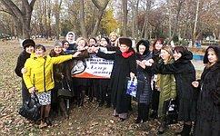 В. Петренко приняла участие вМежрегиональном форуме натему «Будущее России вруках матерей»