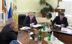 Комитет СФ поконституционному законодательству игосударственному строительству обсудил вЕссентуках вопросы совершенствования деятельности общественных палат субъектов