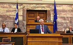 Ю. Липатов принял участие в25-й юбилейной Генеральной Ассамблее Межпарламентской ассамблеи православия