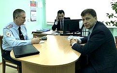 В.Харлов посетил региональный Центр временного содержания иностранных граждан