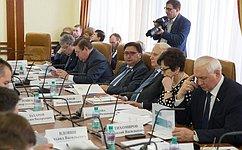 Профильный Комитет Совета Федерации обсудил вопросы развития системы ЖКХ вОрловской области