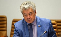 Состоялось заседание Комитета Совета Федерации пообороне ибезопасности